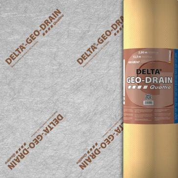 Delta Geodrain Quattro- 2.0mx 12.5m