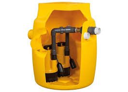 Delta V6 Groundwater Sump and Pumps