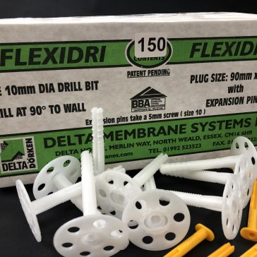 Delta Flexidri Plugs No Grommets (Box 150)