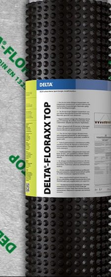 Delta Floraxx Top (water-retaining drainage membrane)