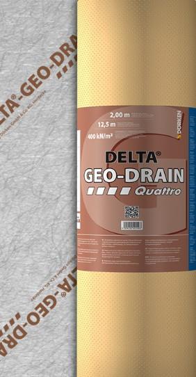 Delta Geodrain Roll