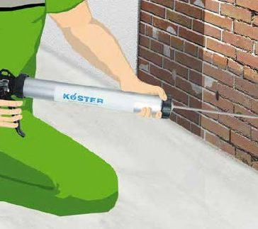 Koster Crisin Cream – Damp Proof Course – 600ml