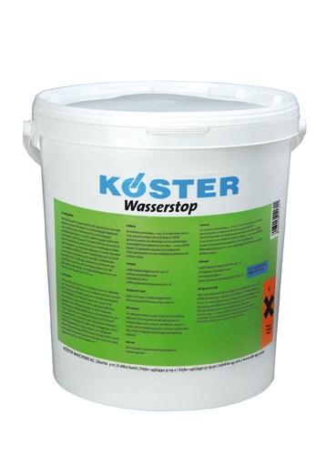 Koster Waterstop Repair Mortar