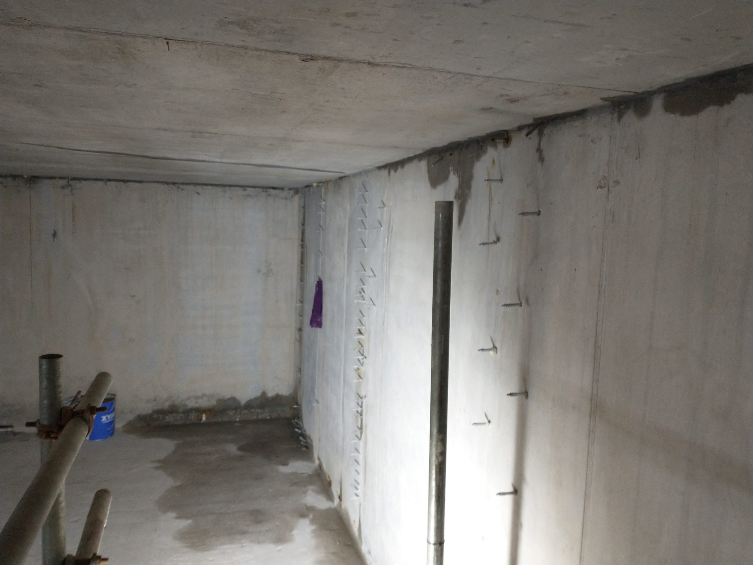 Why has my waterproofing failed? Cement Tanking Systems.
